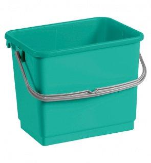 Ведро пластиковое TTS 4 литра зелёное