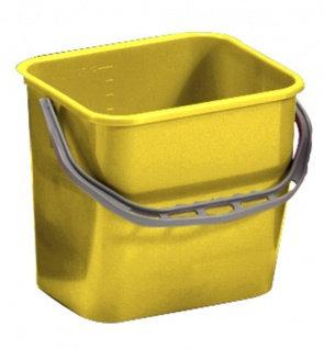 Ведро TTS 12 л желтое