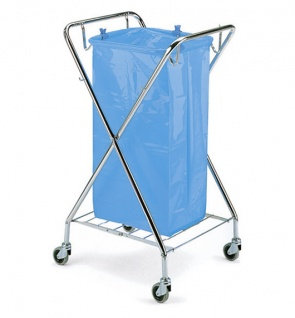 Складная тележка TTS Dust для мусорного мешка
