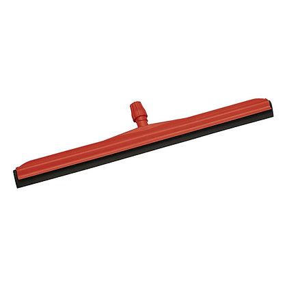 Сгон для пола пластиковый, красный с черной резинкой, 55 см