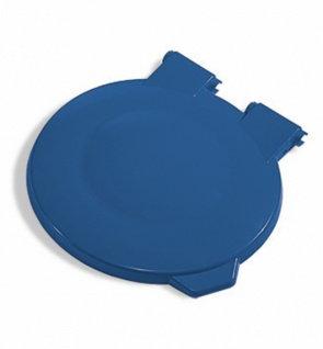 Крышка синяя круглая TTS