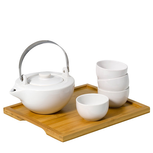 Tea Set 'Asian Bamboo Life'