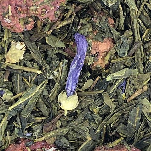 Violet-Raspberry Green Tea