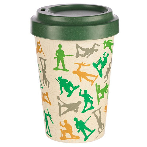 Bamboo Travel Mug Toy Soldiers