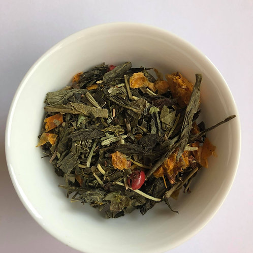 Rosemary & Raspberry Green Tea