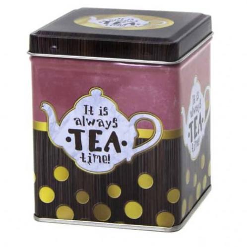Tea Tin Always Time for Tea