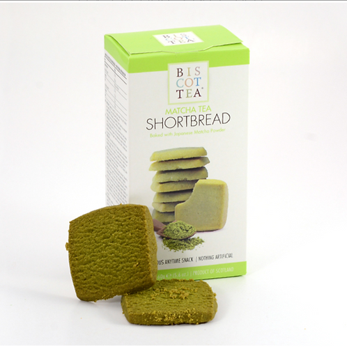 Matcha Tea Shortbread