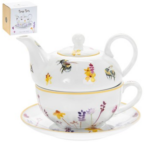 Tea for One Bees Gift Set