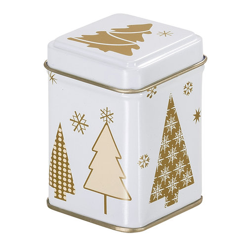 Tea Tin Christmas Trees