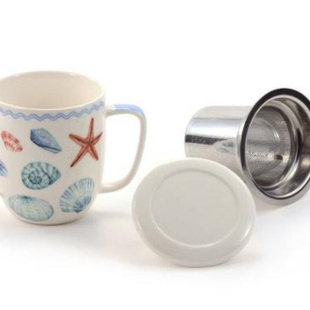 Mug with Lid Strainer
