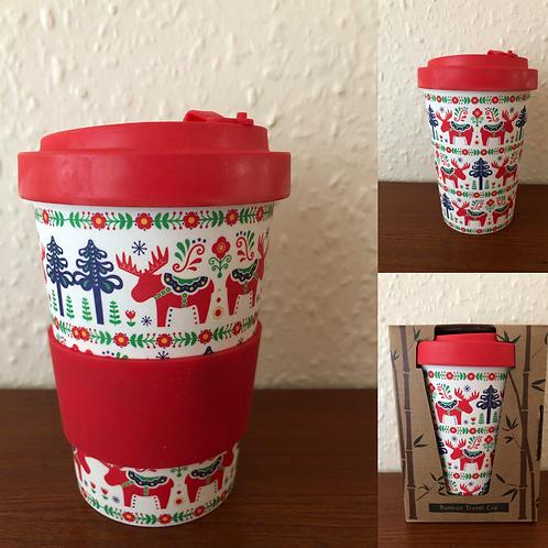 Bamboo Travel Mug Christmas