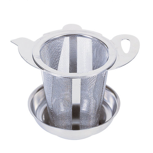 Infuser with tray