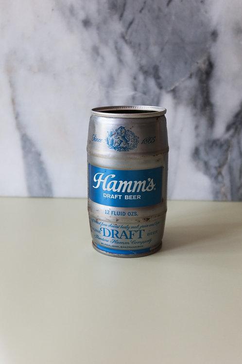 Hamm's Keg Can