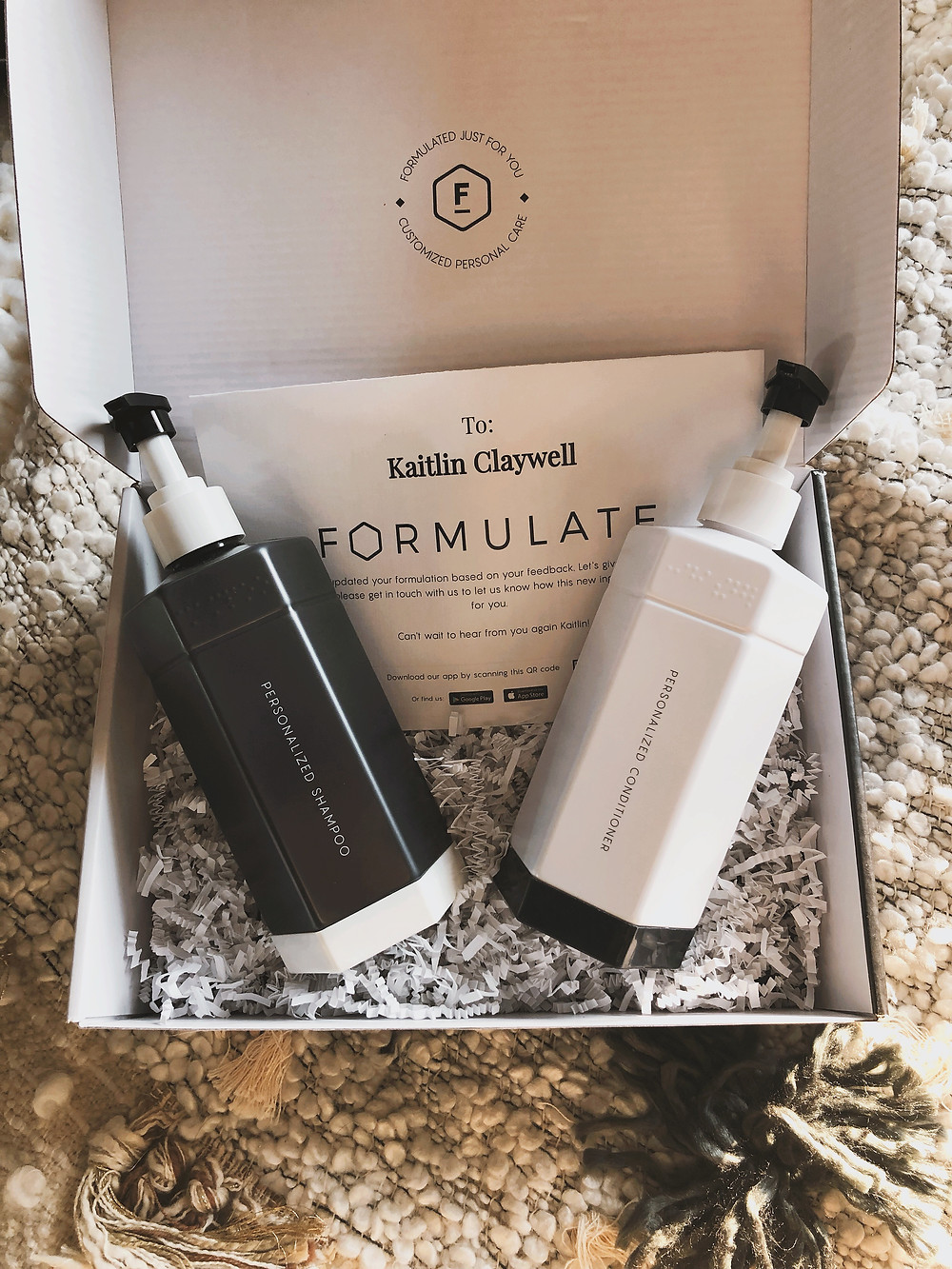Formulate.CO Custom Shampoo and Conditioner | Kaitlin Claywell | Gifted