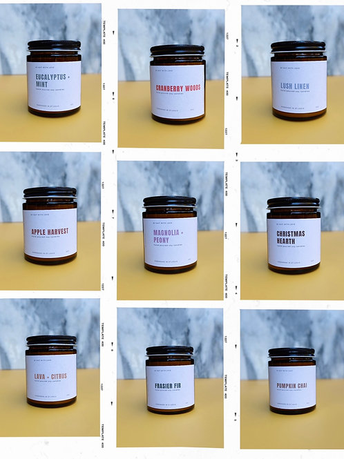 5oz Amber Jar