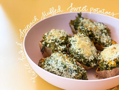 """""""Twice Baked"""" Sweet Potatoes"""