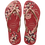 Thumbnail: HAVAIANAS SLIM FLORAL RED