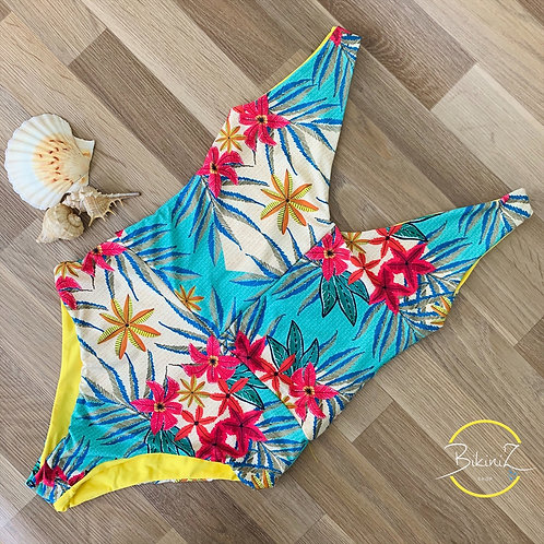 PRINT TROPICAL YELLOW