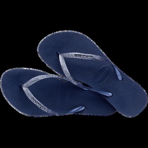 HAVAIANAS SLIM SPARKLE BLUE