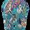 Thumbnail: HAVAIANAS LUNA  FLOR BLUE  CUSTO