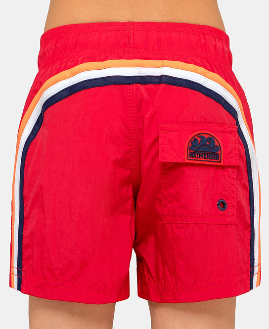 SHORT ENFANT SUNDEK FLAME RED