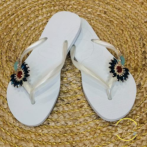 HAVAIANAS SLIM WHITE CUSTO