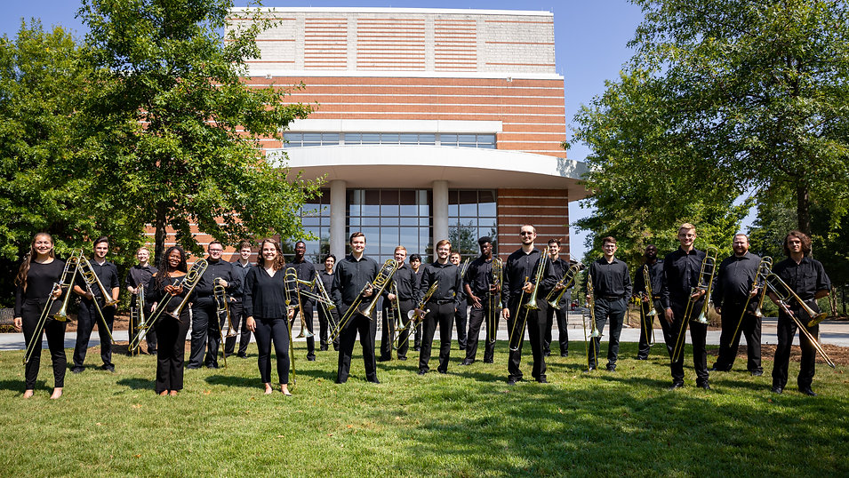 UGA Trombone Choir 2019 - Outside Full C