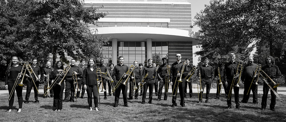 UGA Trombone Choir 2019 - Outside ColorS