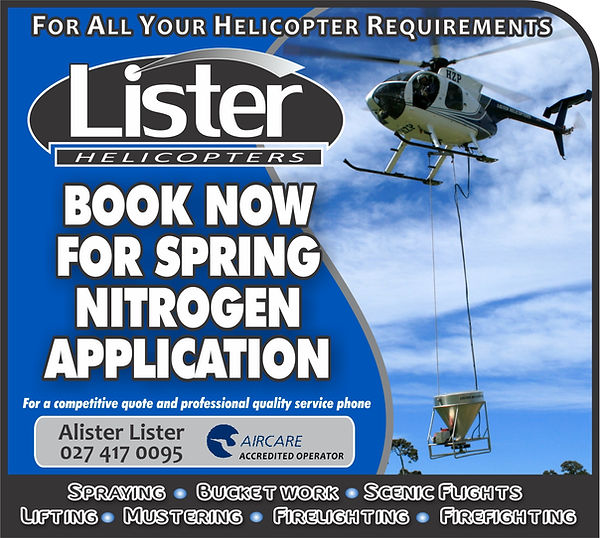Lister Helicopters promotions