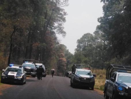 INVESTIGA PGJE MOVIL DEL DOBLE HOMICIDIO OCURRIDO EN SAN PABLO DEL MONTE