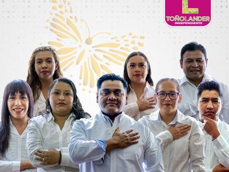 Toño Lander transparenta planilla y muestra perfiles profesionales para dirigir a Papalotla