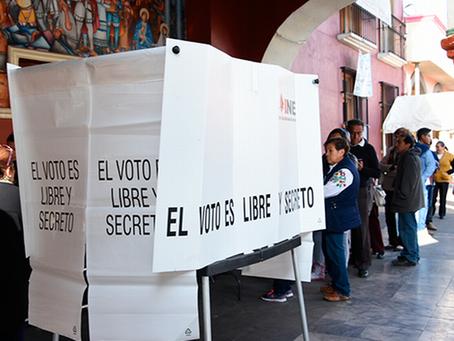 Cubrebocas será obligatorio para acudir a urnas