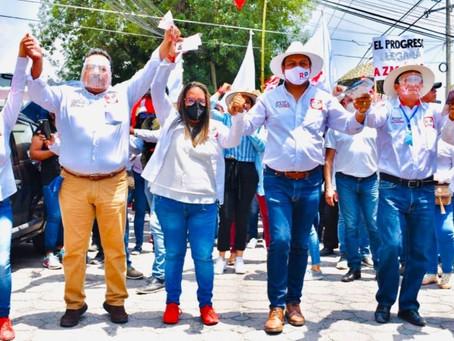 SAGA presencia apertura de campaña de Javier Torres, candidato a la presidencia municipal de Zacatel