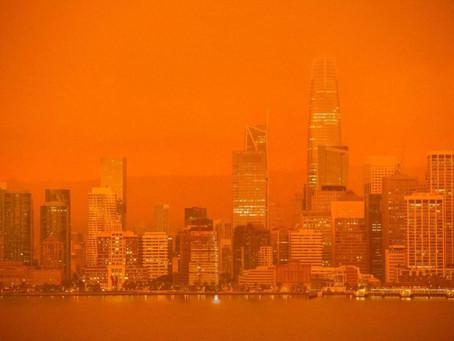 Incendios forestales en la costa oeste de EE.UU ponen en alerta a la población