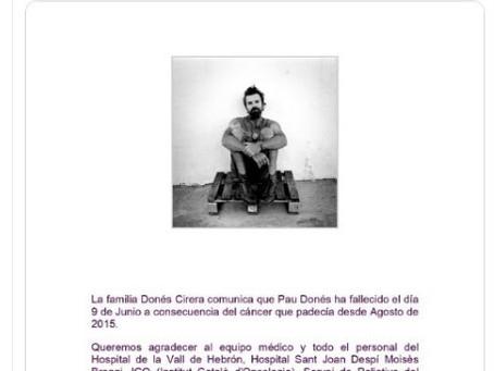 Pau Donés, cantante de Jarabe de Palo, muere a los 53 años víctima de cáncer