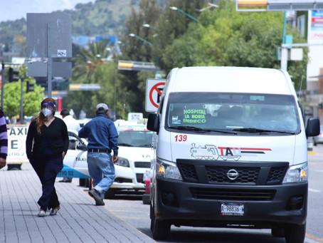 Pide Minerva endurecer medidas sanitarias en transporte público