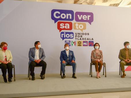 """Presenta coalición """"Unidos por Tlaxcala"""" programa de conversatorios"""