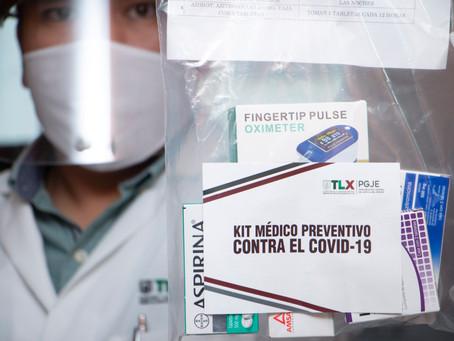 INICIA PGJE ENTREGA DE KITS MÉDICOS PARA TRABAJADORES SOSPECHOSOS DE COVID-19