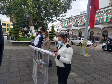 Zacatelco celebra el Aniversario de la Gesta Heroica de los Niños Héroes de Chapultepec