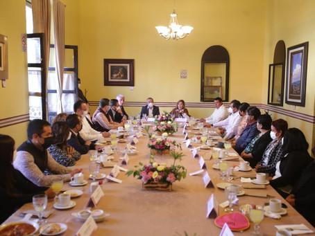 Relación de respeto y coordinación, ofrece Lorena Cuéllar a diputados electos