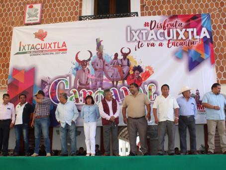 Carnaval,música y fiesta en Ixtacuixtla 2020; 22 camadas y 16 Contigentes en el desfile