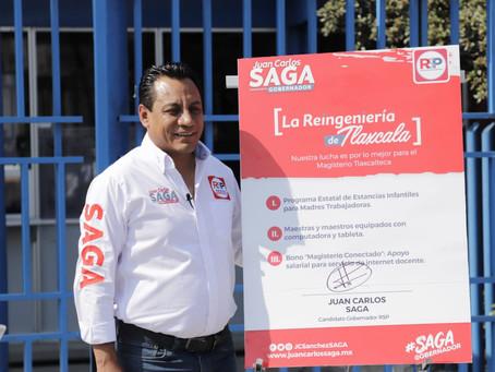 """""""REINGENIERÍA DE TLAXCALA POR LA EDUCACIÓN: SAGA"""""""