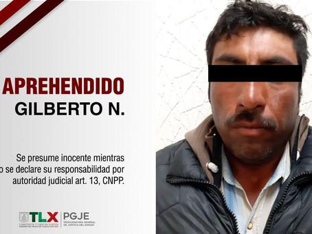 CAPTURA PGJE A IMPUTADO POR HOMICIDIO EN GRADO DE TENTATIVA OCURRIDO EN 2015