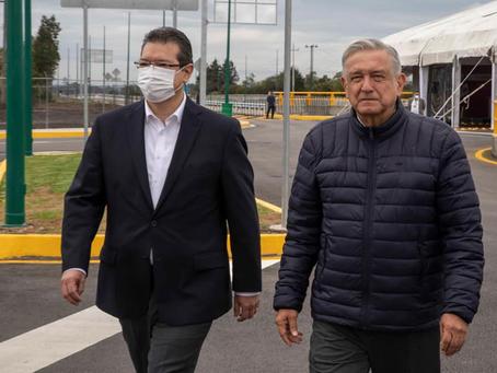 VERSIÓN ESTENOGRÁFICA DEL GOBERNADOR MARCO MENA DURANTE LA INAUGURACIÓN DEL PASO INFERIOR VEHICULAR