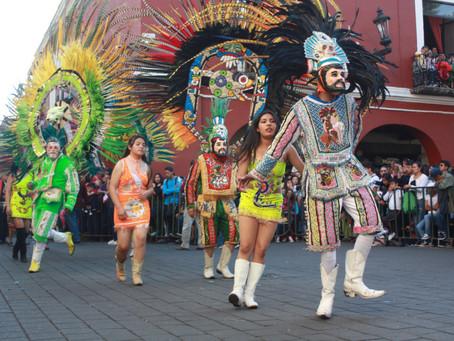 Presentación en línea de las actividades del Carnaval Digital.