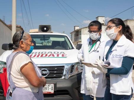 """Suman """"Brigadas Cuídate"""" más de 51 mil acciones preventivas por Covid-19: Sesa"""