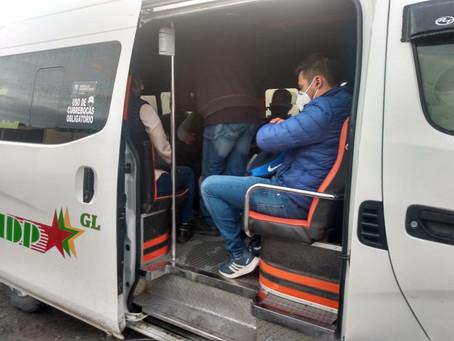REFORZÓ SECRETARÍA DE MOVILIDAD Y TRANSPORTE VIGILANCIA EN LAS UNIDADES