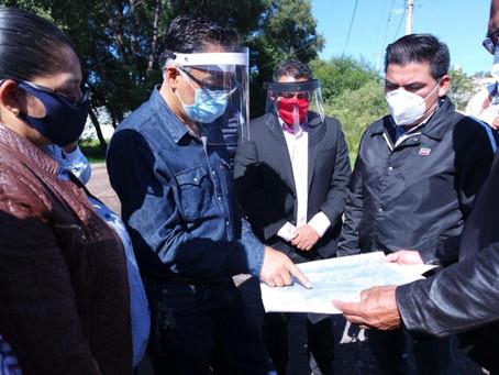 Gobierno de Papalotla y Xicohtzinco acuerdan delimitación territorial