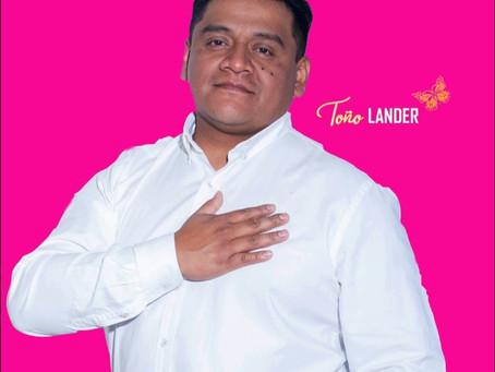 Toño Lander, un servidor público con experiencia y juventud para dirigir Papalotla