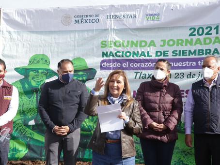 Impulsaremos un trabajo sin precedentes en beneficio del campo y medioambiente en Tlaxcala: Lorena